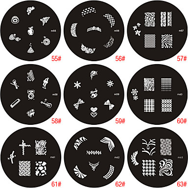 Nail Art Stamp Stamping Image Template Plate M Series 2016 – $0.89