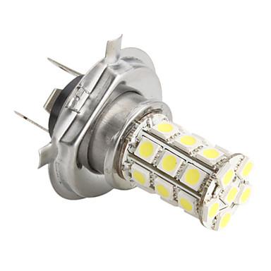 h4 5050 SMD 27 led 1.44w 260mA lampadina bianca per auto (12V dc) del ...