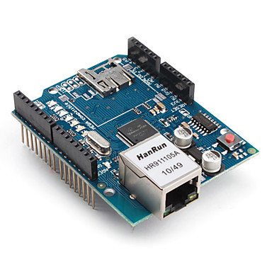 Arduino Ethernet SHIELD Rev3 WITH PoE (from arduino.org ...