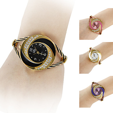 s bracelet whirlwind circle style gold