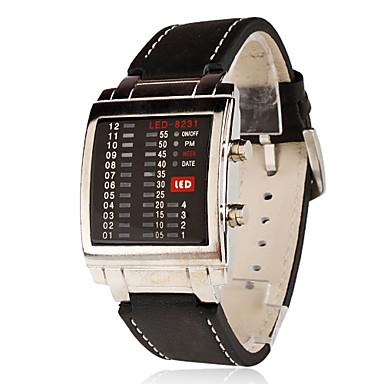 s pu digital led wrist black cool unique