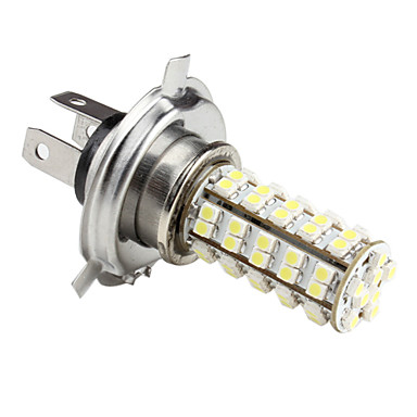 H4 1210 smd 6 led wei gl hbirne f r autolampen dc for Led autolampen