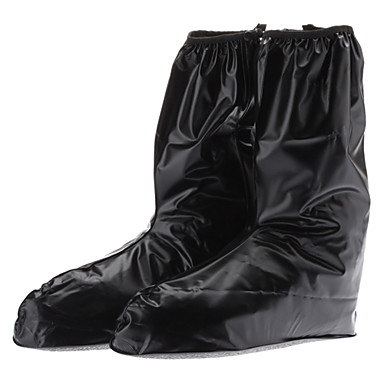 black rubber outdoor waterproof non slip shoe covers for