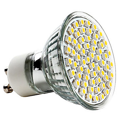 Usd gu10 2 5w 60x3528smd 240lm 2700k warm white - Spot de jardin led ...
