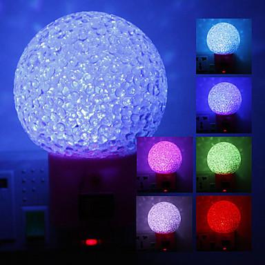 boule de cristal couleur en forme de lumi re changeante nuit led 220 de 560706 2017. Black Bedroom Furniture Sets. Home Design Ideas