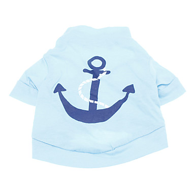 Chien Tee,shirt Vêtements pour Chien Mode Vacances Marin Bleu de 582112 2017  à \u20ac5.49