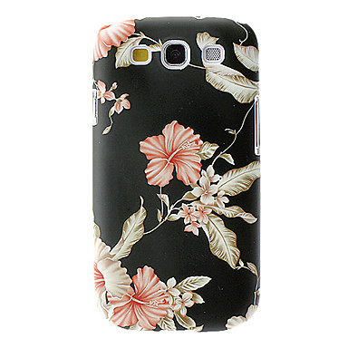 elegant design flower pattern hard case voor samsung. Black Bedroom Furniture Sets. Home Design Ideas