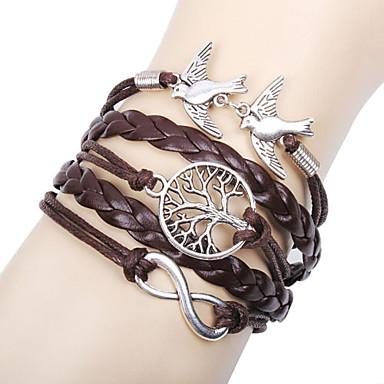 femme charmes pour bracelets bracelets en cuir bracelets basique amiti multicouches fait la. Black Bedroom Furniture Sets. Home Design Ideas