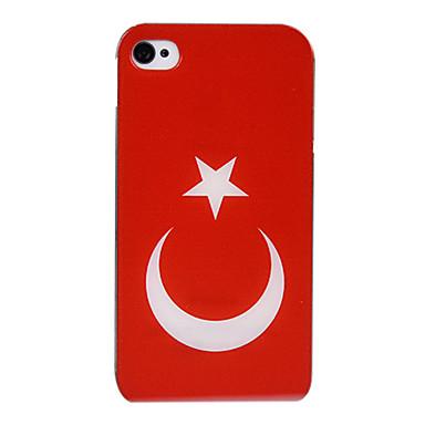 Turkse Vlag PC Hard Case voor iPhone 4/4S 1440276 2016 – €1.99