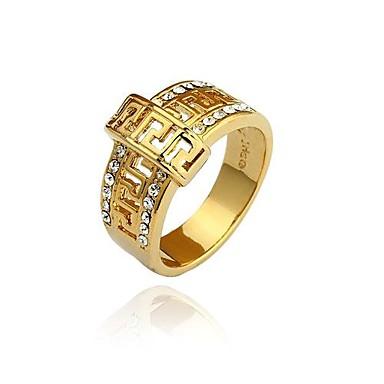 vintage unisex rings designer jewelry mens 24k