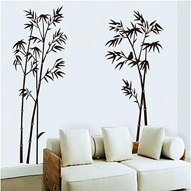 Etiqueta de la pared patr n de bamb pintura en tinta for 1 wall decoration murale