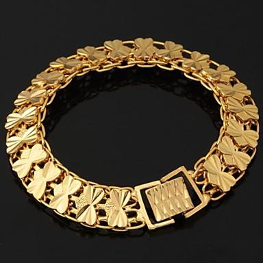 Женские браслеты из золота как цепи