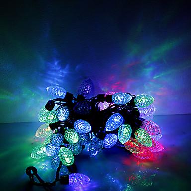 2017 – 5m 50의 LED 크리스마스 할로윈 장식 조명 축제 스트립 조명 ...