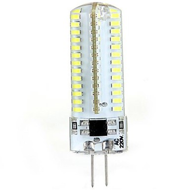 Luci LED Bi-pin / LED a pannocchia 104 SMD 3014 T G4 5W 600 LM Bianco caldo / Luce fredda AC 220 ...