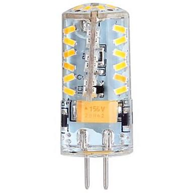 3W G4 LED a pannocchia / Luci LED Bi-pin T 57 SMD 3014 250 lm Bianco caldo DC 12 / AC 12 / AC 24 ...