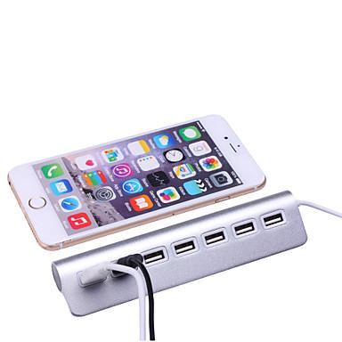 7 ports aluminium hub usb 2 0 hub portable pour apple - Bureau pour pc portable ...