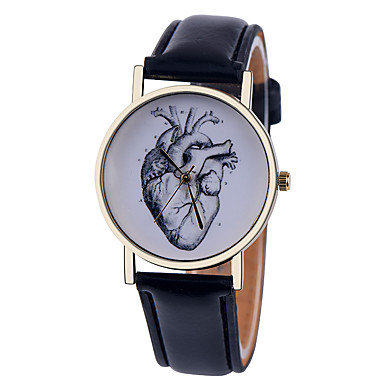 human anatomy heart watch vintage style leather watch women human anatomy heart watch vintage style leather watch women watches boyfriend watch men s watch black and white cool watches unique watches 5002019 2017