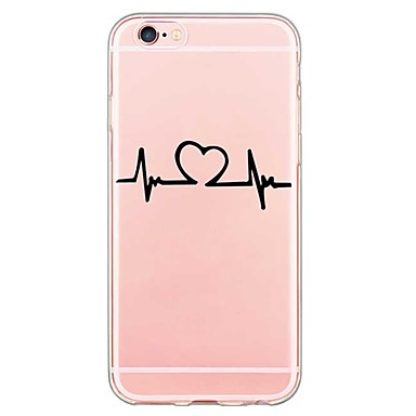 For iphone 7 back cover transparent body ultra thin word for Coque iphone 6 miroir