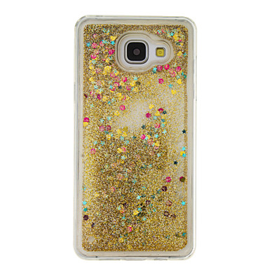 for samsung galaxy a5 2016 a3 2016 flowing liquid case back cover case glitter shine soft tpu. Black Bedroom Furniture Sets. Home Design Ideas