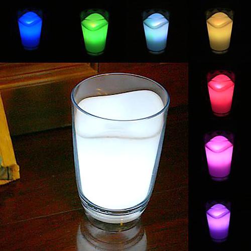 Ночник - разноцветный светодиодный стакан с молоком (CEG200)