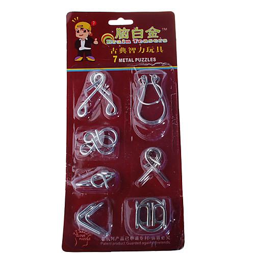 металлическое кольцо Шарики Головоломки IQ тест игрушки (набор из 7)  192.000