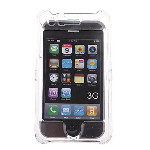 силиконовый защитный чехол для iphone 3g (кристалл)  85.000
