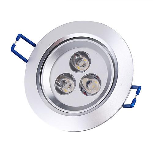 Потолочный светильник, теплый белый свет, 3W 220-250LM, (85-265В)