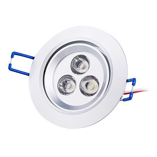 3W 220-250LM белый потолочный светильник / вниз свет с LED Driver (85-265В)