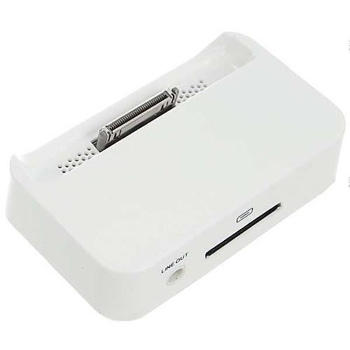Зарядная докстанция для Apple iPhone 4 (белая)  214.000