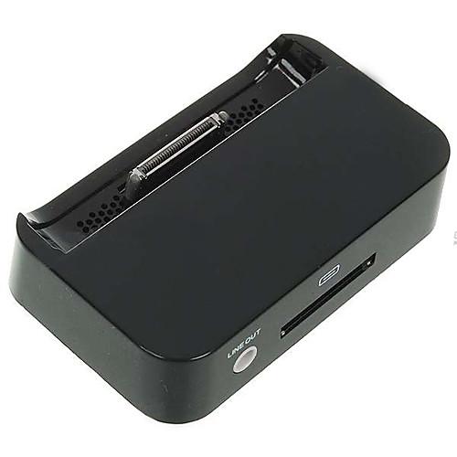 Зарядная докстанция для Apple iPhone 4 (черная)  171.000