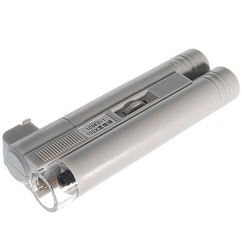 портативные 100x микроскоп со светодиодной подсветкой (2  AA)  579.000