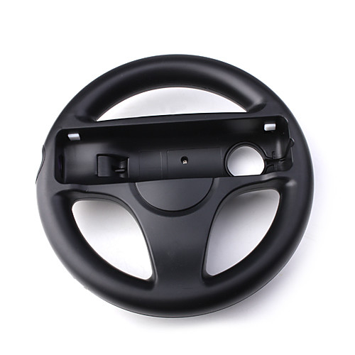 Гоночное рулевое колесо для Wii (черное)  255.000