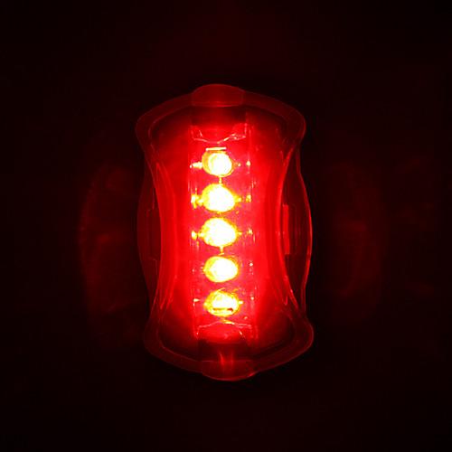 Велосипедные фары / Задняя подсветка на велосипед Светодиодная лампа Велоспорт Светодиодная лампа AAA Батарея Велосипедный спорт