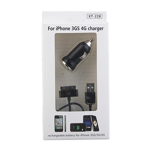 в автомобиле Зарядное устройство для iphone 4/3gs/3g  214.000