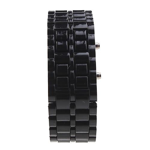 Муж. Наручные часы Цифровой Календарь LED Plastic Группа Черный от MiniInTheBox.com INT
