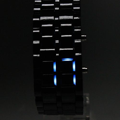 Мужской Наручные часы Цифровой LED / Календарь Plastic Группа Черный бренд- от MiniInTheBox INT