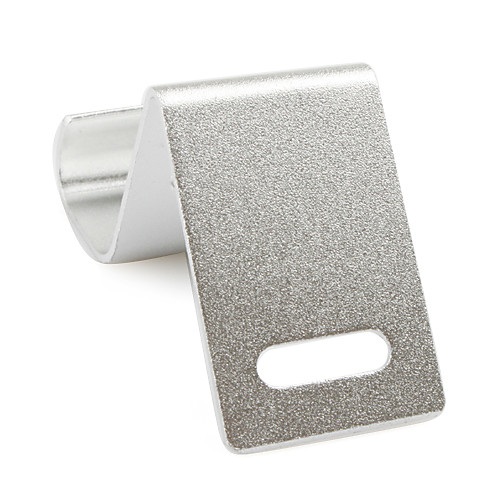 Компактная подставка для iРhone (серебристая)  85.000