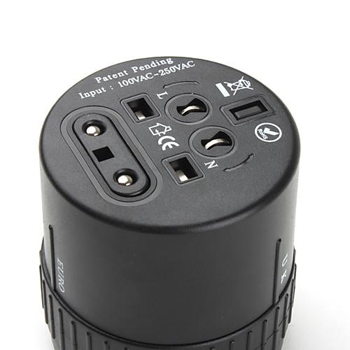 Универсальный адаптер Путешествия Plug 100-250V  601.000
