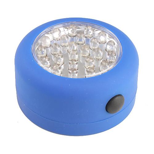 24 привели ручной фонарь кемпинг свет кемпинговые лампы синего
