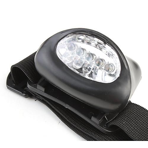 Налобные фонари Светодиодная лампа 50lm 1 Режим освещения Очень легкие / Маленький размер / Компактный размер Походы / туризм /