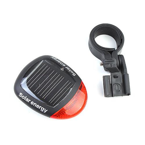 3 режима солнечной энергетики аккумуляторная свет велосипеда хвост с 2 красных светодиодов хс-909  244.000