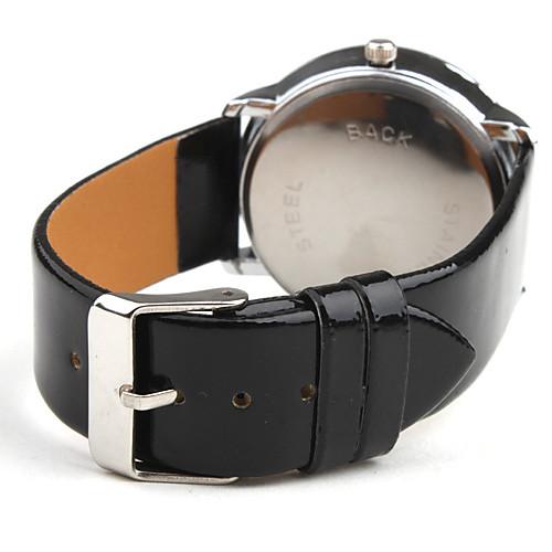 Жен. Нарядные часы Модные часы Кварцевый Повседневные часы PU Группа минималист Черный от MiniInTheBox.com INT