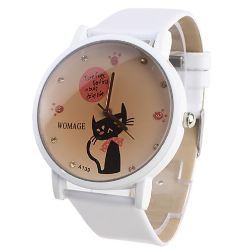 300 лей 2) Женские часы с кошкой и белым ремешком-- 150 лей 3) мужские аналоговые кварцевые наручные часы