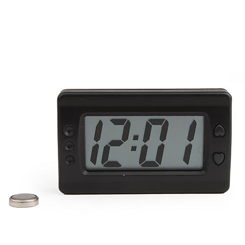 ЖК-цифровой приборной панели автомобиля настольные часы - черный полироль для приборной панели atas plak amarena 400 мл