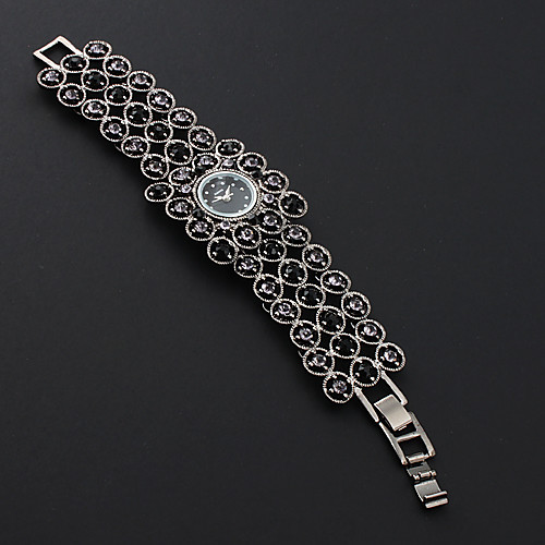 черный браслет женщин смотреть с черными czechic украшения бриллиант  386.000