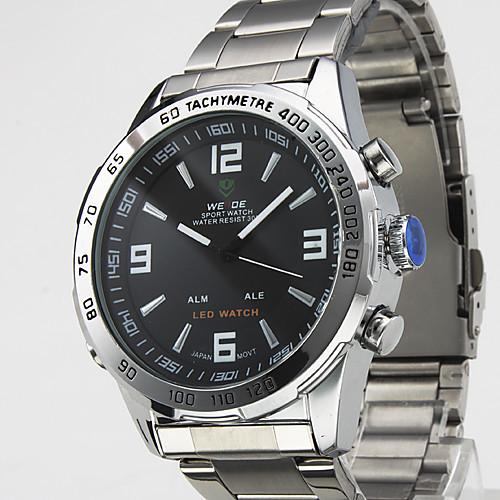 Аналоговые цифровые часы с двойным циферблатом WH-1009  944.000