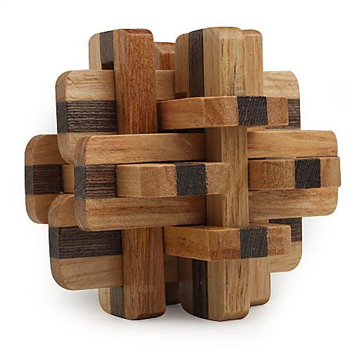 Деревянная головоломка для повышения IQ из 12 частей  171.000