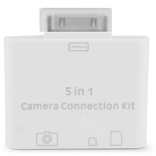 USB набор для подключения камеры, кард ридер SD/TF/M2 для iPad, iPad 2 и The new iPad  300.000