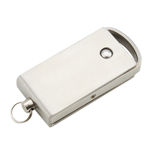 8gb нержавеющей хром Стиль USB Flash Drive брелок (серебро)  446.000