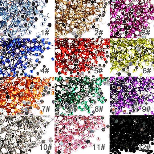 50 Украшения для ногтей Дисконтированные Flatbacks Абстракция Мода Высокое качество Повседневные